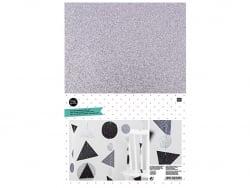 Acheter Lot de 10 feuilles de caoutchouc mousse A4 - plaques blanches, argentées et noires - 7,19€ en ligne sur La Petite Ep...