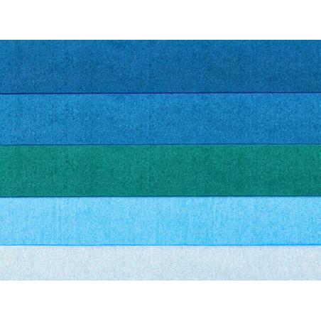 Acheter 5 feuilles de papier de soie - tons de bleu assortis - 1,99€ en ligne sur La Petite Epicerie - Loisirs créatifs