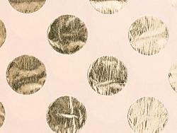 Acheter 4 feuilles de papier de soie rose à pois dorés - 3,69€ en ligne sur La Petite Epicerie - Loisirs créatifs