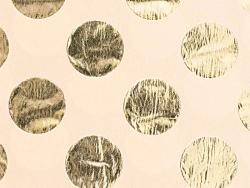 Acheter 4 feuilles de papier de soie beige à pois dorés - 3,69€ en ligne sur La Petite Epicerie - Loisirs créatifs