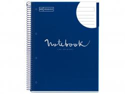 """Acheter Carnet à spirale A4 """"notebook"""" ligné - bleu marine - 5,99€ en ligne sur La Petite Epicerie - Loisirs créatifs"""