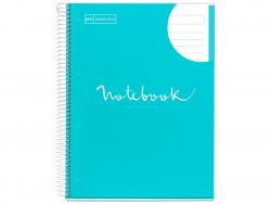 """Acheter Carnet à spirale A4 """"notebook"""" ligné - bleu ciel - 5,99€ en ligne sur La Petite Epicerie - Loisirs créatifs"""