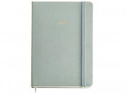 Acheter Carnet A5 - couverture simili cuir vert d'eau - 9,79€ en ligne sur La Petite Epicerie - Loisirs créatifs