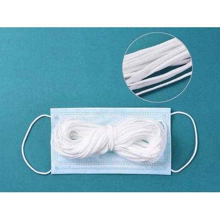 Acheter 10 mètres de cordon élastique plat 3mm - spécial couture de masques de protection covid-19 - 1,99€ en ligne sur La P...