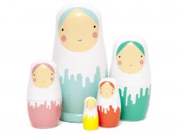 Acheter Poupées russes - couleurs pop - 19,90€ en ligne sur La Petite Epicerie - Loisirs créatifs