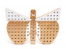 Acheter Papillon en bois à broder - 17,99€ en ligne sur La Petite Epicerie - Loisirs créatifs