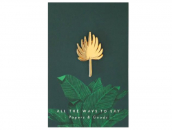 Acheter Pin's feuille de palmier rétro - ATWS - 8,99€ en ligne sur La Petite Epicerie - Loisirs créatifs