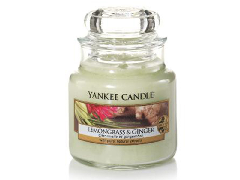 Acheter Bougie Yankee Candle - Citronnelle et Gingembre / Lemongrass and Ginger - Petite jarre - 11,89€ en ligne sur La Peti...