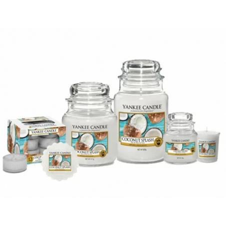 Acheter Bougie Yankee Candle - Eau de noix de coco / Coconut Splash - Bougie votive - 2,69€ en ligne sur La Petite Epicerie ...