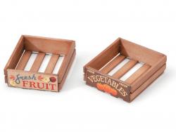 Acheter Cagette miniature en bois - 2,79€ en ligne sur La Petite Epicerie - Loisirs créatifs