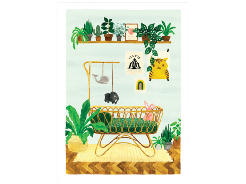 Acheter Affiche aquarelle - Chambre d'enfant - 29,7 x 39,7 cm - 23,99€ en ligne sur La Petite Epicerie - Loisirs créatifs