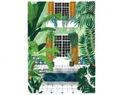 Acheter Affiche aquarelle - Riad - 29,7 x 39,7 cm - 23,99€ en ligne sur La Petite Epicerie - Loisirs créatifs