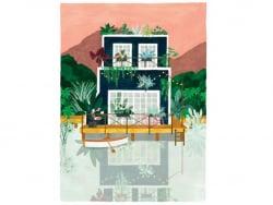 Acheter Affiche aquarelle - Cabine - 29,7 x 39,7 cm - 23,99€ en ligne sur La Petite Epicerie - Loisirs créatifs