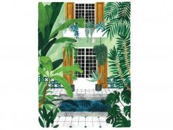 Acheter Affiche aquarelle - Riad - 50 x 70 cm - ATWS - 44,99€ en ligne sur La Petite Epicerie - Loisirs créatifs