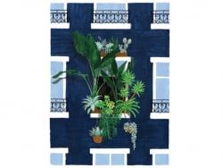 Acheter Affiche aquarelle - Balcon - 29,7 x 39,7 cm - 23,99€ en ligne sur La Petite Epicerie - Loisirs créatifs