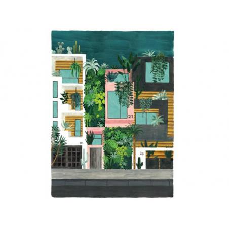 Acheter Affiche aquarelle - Buildings - 29,7 x 39,7 cm - 23,99€ en ligne sur La Petite Epicerie - 100% Loisirs créatifs