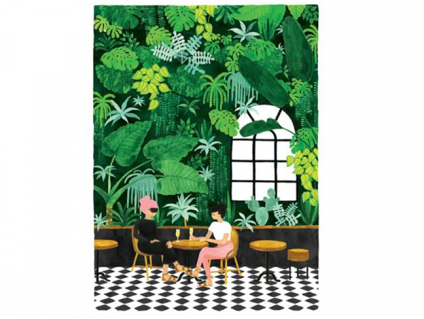 Acheter Affiche aquarelle - Café en terrasse - 29,7 x 39,7 cm - 23,99€ en ligne sur La Petite Epicerie - 100% Loisirs créatifs