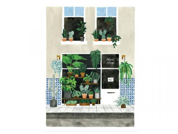 Acheter Affiche aquarelle - Plant nursery - 29,7 x 39,7 cm - 23,99€ en ligne sur La Petite Epicerie - Loisirs créatifs