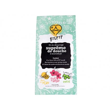 Acheter Coffret cadeau kit de démarrage - Suprême de douche à reconstituer : fruits de la passion, fleurs de cerisier et kari...