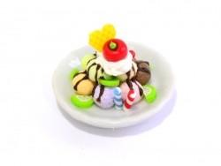 Großartiger Miniatureisbecher - rund