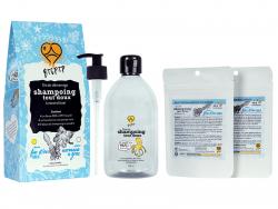 Acheter Coffret cadeau kit de démarrage - Shampoing tout doux - cheveux fins et/ou secs - 21,99€ en ligne sur La Petite Epic...