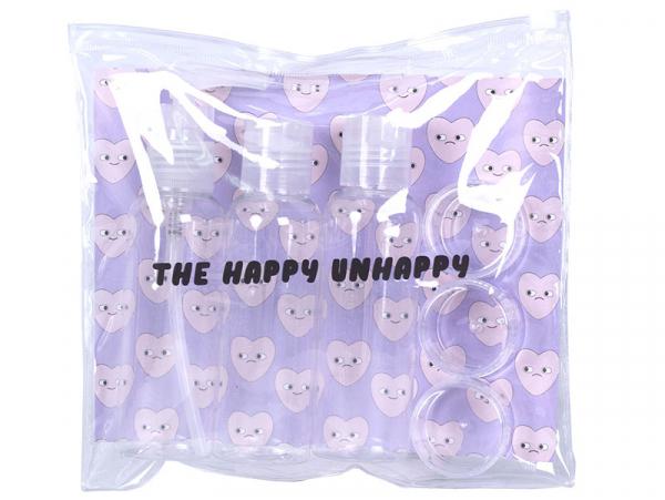 Acheter Set de voyage - Happy unhappy - 5,99€ en ligne sur La Petite Epicerie - Loisirs créatifs