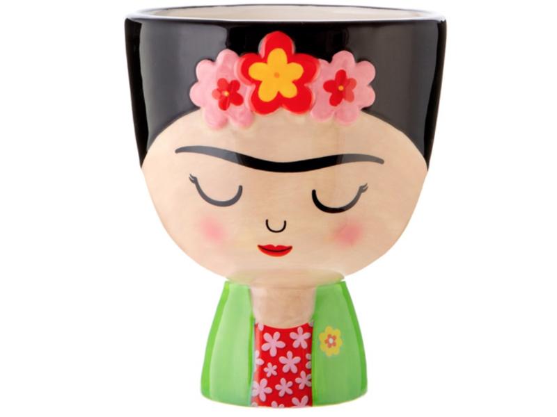 Acheter Grand pot à plante Frida Kahlo - 17,99€ en ligne sur La Petite Epicerie - 100% Loisirs créatifs