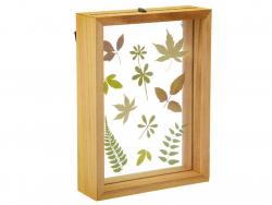 Acheter Cadre flottant herbier - 14,5 x 19,5 cm - 14,99€ en ligne sur La Petite Epicerie - Loisirs créatifs