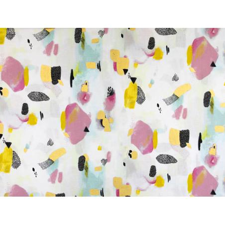 Acheter Tissu coton Piet en Kees - Pink Metallic - 2,15€ en ligne sur La Petite Epicerie - Loisirs créatifs