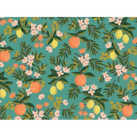 Acheter Tissu coton Rifle Paper - Citrus Floral - 2,15€ en ligne sur La Petite Epicerie - Loisirs créatifs