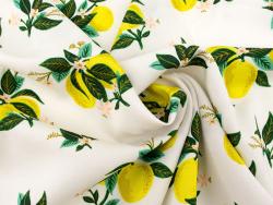 Acheter Tissu rayonne Rifle Paper - Citrus Blossom - 2,63€ en ligne sur La Petite Epicerie - Loisirs créatifs