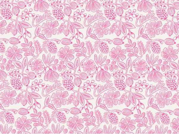 Acheter Tissu coton Rifle Paper - Neon Pink Floral - 2,35€ en ligne sur La Petite Epicerie - Loisirs créatifs