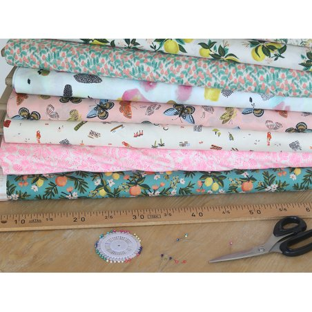 Acheter Tissu coton Rifle Paper - Explorer - 1,89€ en ligne sur La Petite Epicerie - Loisirs créatifs