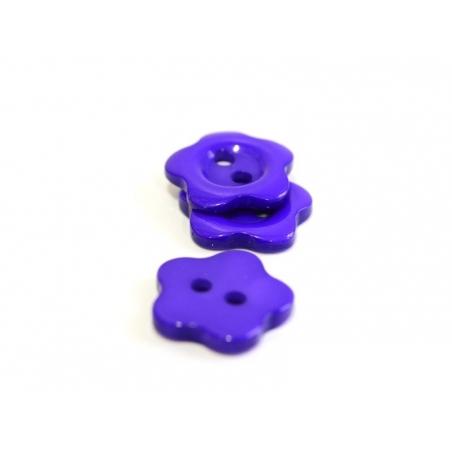Acheter Bouton plastique fleur 14 mm - violet - 0,29€ en ligne sur La Petite Epicerie - Loisirs créatifs