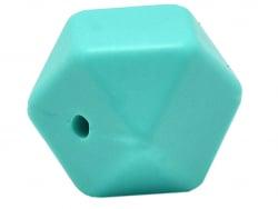 Acheter Lot de 3 perles géométriques de 14 mm en silicone - Turquoise - 2,99€ en ligne sur La Petite Epicerie - Loisirs créa...