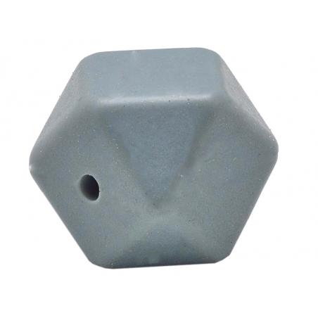 Acheter Lot de 3 perles géométriques de 14 mm en silicone - Gris ardoise - 2,99€ en ligne sur La Petite Epicerie - Loisirs c...