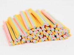 Italian ice-cream cane - pastel-coloured