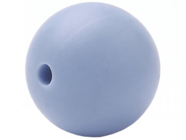 Acheter Lot de 5 perles rondes de 12 mm en silicone - Bleu acier clair - 2,99€ en ligne sur La Petite Epicerie - Loisirs cré...