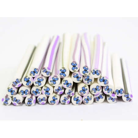 Butterfly cane - blue