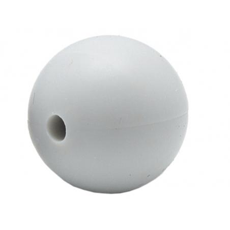 Acheter Lot de 5 perles rondes de 12 mm en silicone - Gris clair - 2,99€ en ligne sur La Petite Epicerie - Loisirs créatifs