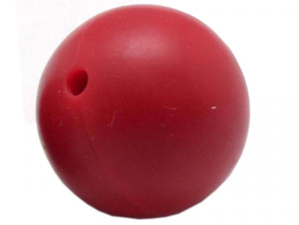 Acheter Lot de 5 perles rondes de 12 mm en silicone - Rouge - 2,99€ en ligne sur La Petite Epicerie - Loisirs créatifs