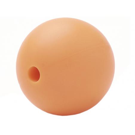 Acheter Lot de 5 perles rondes de 12 mm en silicone - Orange - 2,99€ en ligne sur La Petite Epicerie - Loisirs créatifs