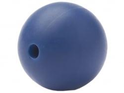 Acheter Lot de 5 perles rondes de 12 mm en silicone - Bleu nuit - 2,99€ en ligne sur La Petite Epicerie - Loisirs créatifs