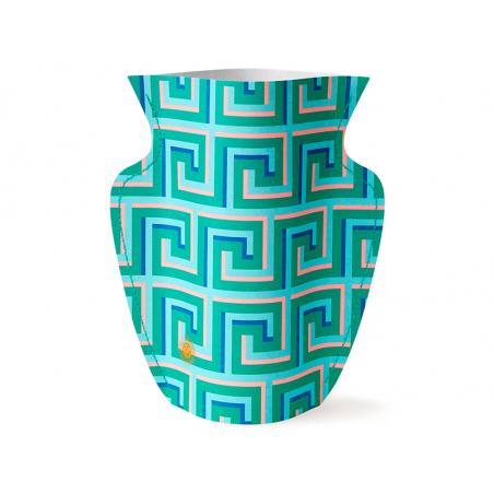 Acheter Petit vase en papier Octaevo - Icarus vert - 13,99€ en ligne sur La Petite Epicerie - Loisirs créatifs