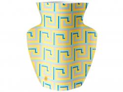 Acheter Grand vase en papier Octaevo - Icarus jaune - 22,99€ en ligne sur La Petite Epicerie - Loisirs créatifs