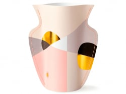 Acheter Grand vase en papier Octaevo - Siena rose - 22,99€ en ligne sur La Petite Epicerie - Loisirs créatifs