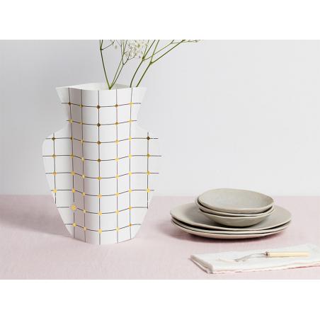 Acheter Grand vase en papier Octaevo - Duna - 22,99€ en ligne sur La Petite Epicerie - Loisirs créatifs