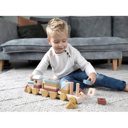 Acheter Train à blocs - Little Dutch - 29,99€ en ligne sur La Petite Epicerie - Loisirs créatifs