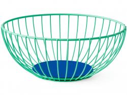 Acheter Grande corbeille à fruits en acier - Iris - 37,99€ en ligne sur La Petite Epicerie - Loisirs créatifs