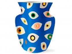 Acheter Petit vase en papier Octaevo - Nazar bleu - 13,99€ en ligne sur La Petite Epicerie - Loisirs créatifs